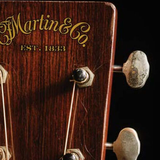 The Test of Time: Martin's Aged Guitars