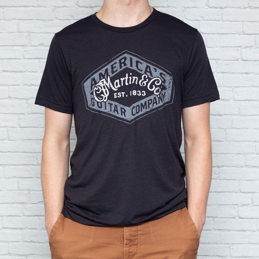 Person wearing Martin Guitar t-shirt