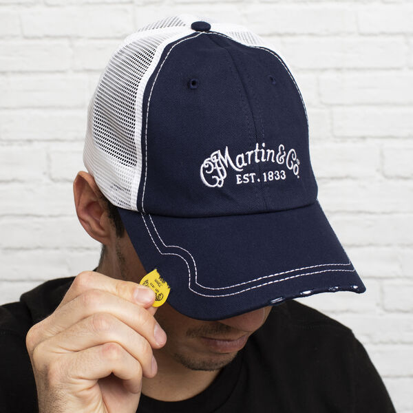 Martin Pick Hat (Navy) image number 1