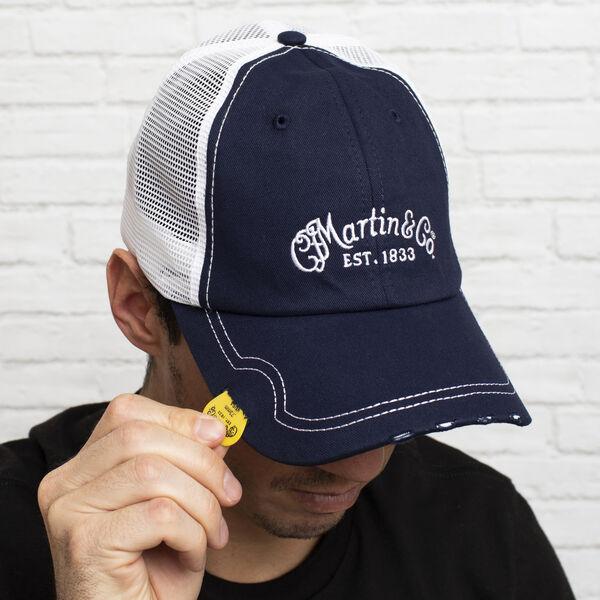 Martin Pick Hat (Navy) image number 1