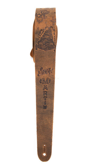 Homeward Leather Guitar Strap