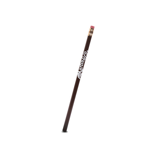 Martin Logo Pencil (Brown with White Logo) image number 0