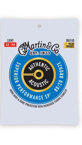 Authentic Acoustic SP® Guitar Strings 80/20 Bronze