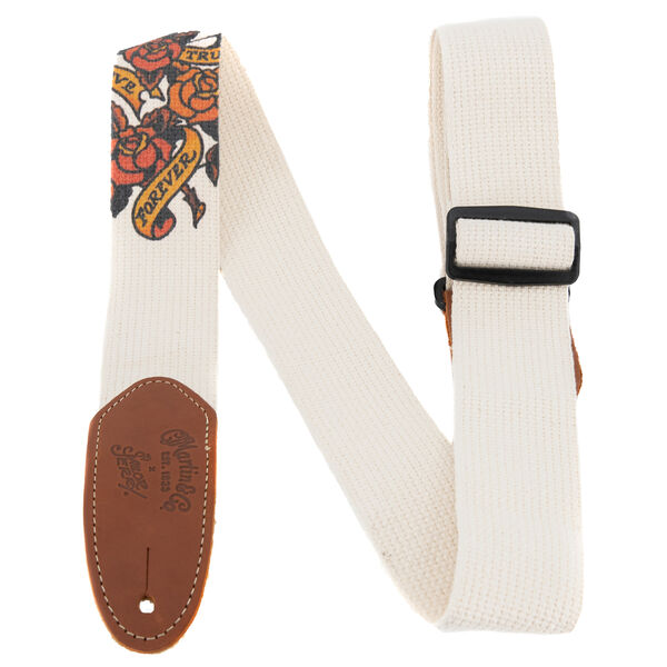 True Love Cotton Weave Guitar Strap image number 0