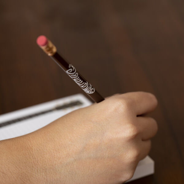 Martin Logo Pencil (Brown with White Logo) image number 1