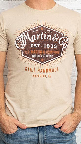 """Martin """"Still Handmade"""" Tee"""