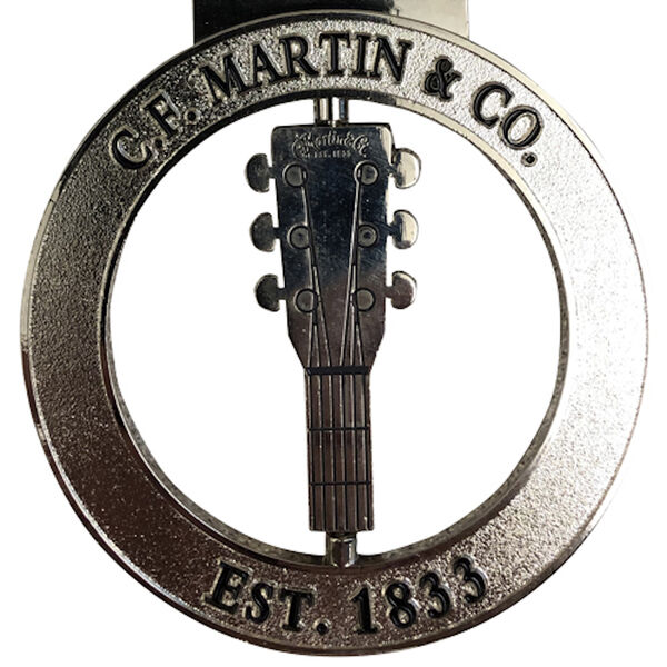 Silver C.F. Martin & Co. Ornament image number 1