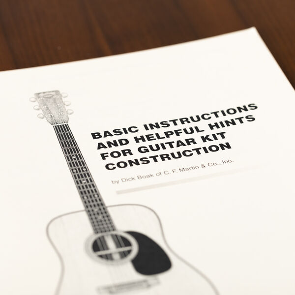 Basic Instructions and Helpful Hints for Guitar Kit Construction image number 1