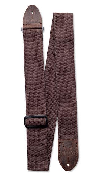 Basic Cotton Weave Strap w/ Pick Holder (Brown)