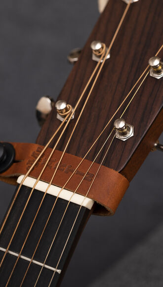 Brown Headstock Tie