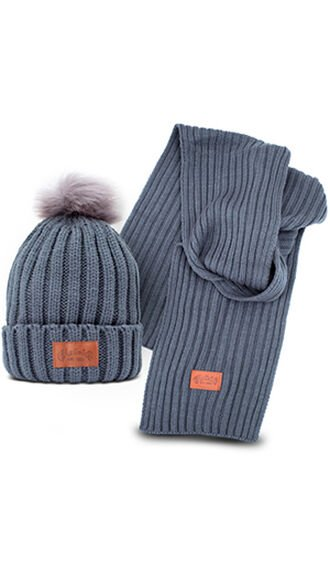 Martin Hat and Scarf Set