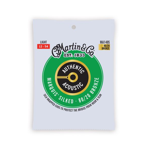 Authentic Acoustic Marquis® Silked Guitar Strings 80/20 Bronze image number 0