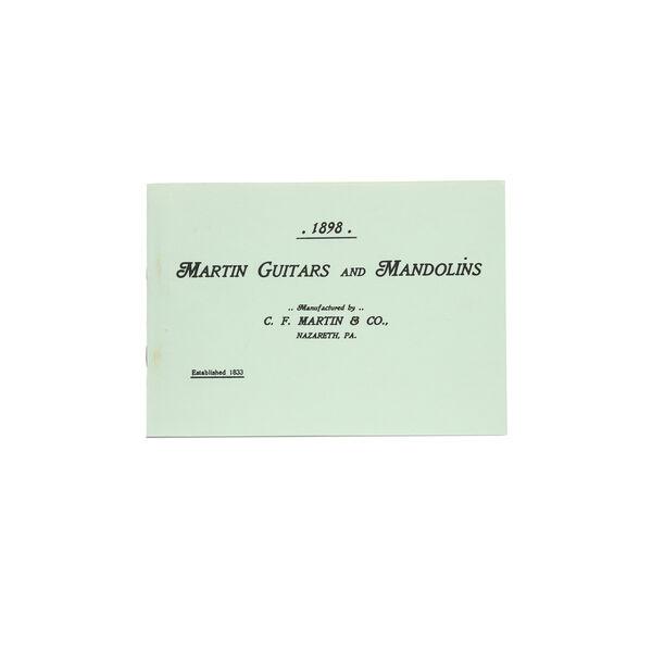 CF Martin 1898 Catalog Reprint image number 0