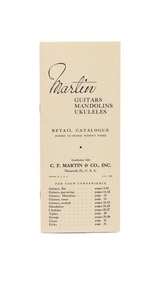 CF Martin 1941 Catalog Reprint
