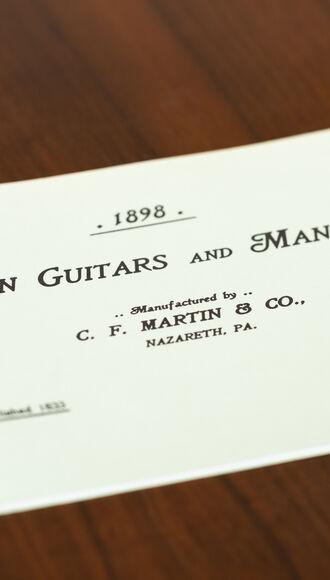 CF Martin 1898 Catalog Reprint