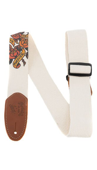 True Love Cotton Weave Guitar Strap
