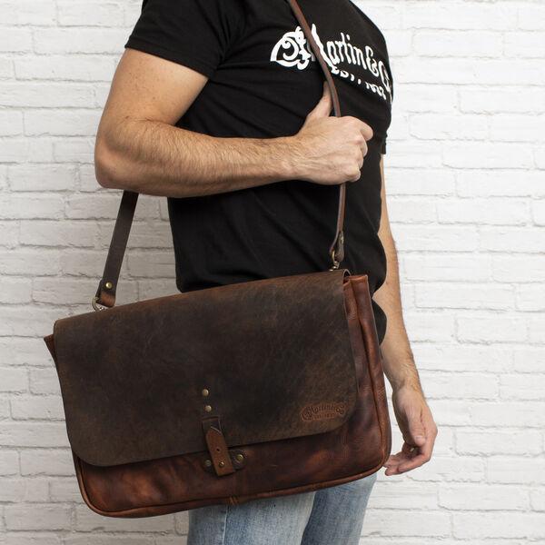 Martin Leather Commuter Bag image number 2