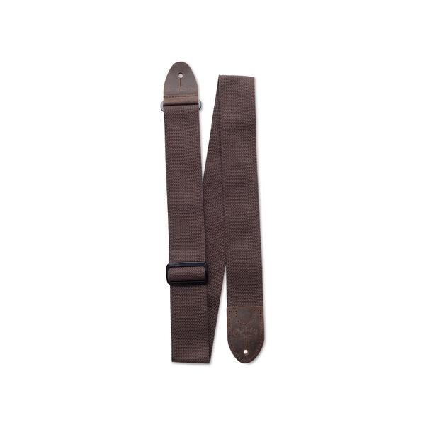 Basic Cotton Weave Strap w/ Pick Holder (Brown) image number 1