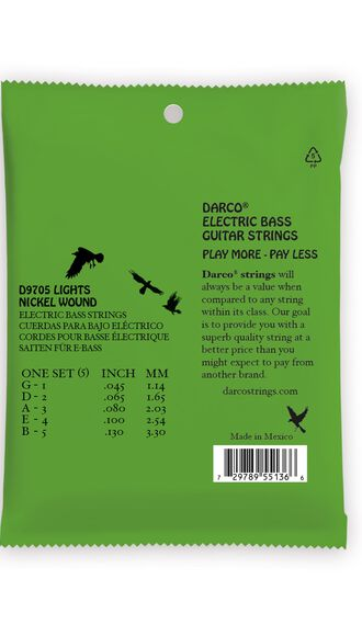 Darco® Electric Bass Strings