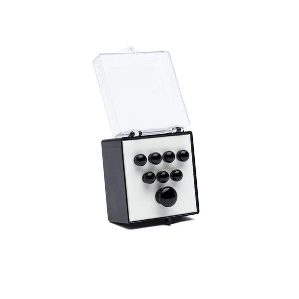 Authentic Series Bridge and End Pin Set (Plain Black) image number 0