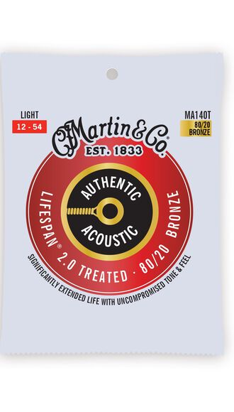 Martin Authentic Acoustic Lifespan® 2.0 Guitar Strings