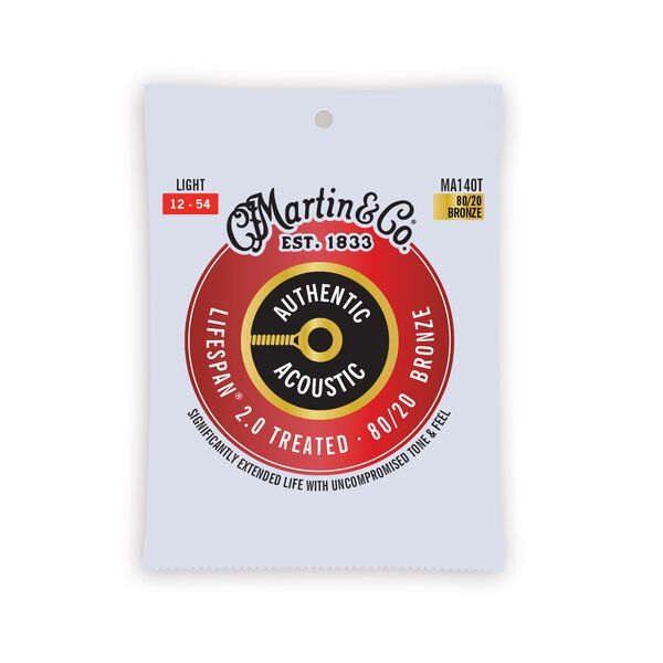 Martin Authentic Acoustic Lifespan® 2.0 Guitar Strings image number 0