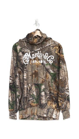 New Martin Camo Gaiter Hoodie (Realtree Xtra® pattern)