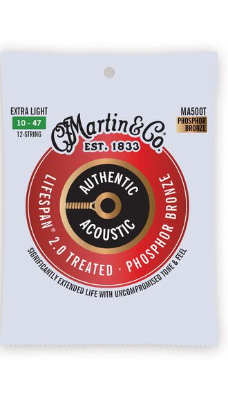 Authentic Acoustic Lifespan® 2.0 Guitar Strings Phosphor Bronze