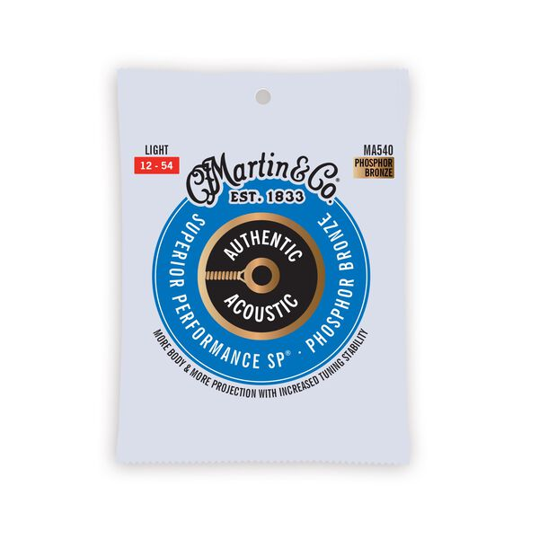 Authentic Acoustic SP® Guitar Strings Phosphor Bronze image number 0