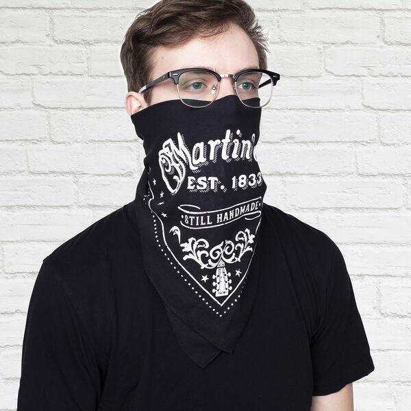 Martin Bandana (Black) image number 1