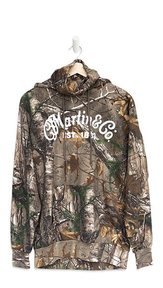 New Martin Camo Gaiter Hoodie (Realtree Xtra® pattern)