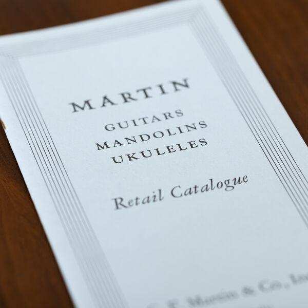 CF Martin 1930 Catalog Reprint image number 1