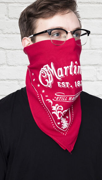 Martin Bandana (Red)