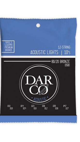 Darco® Acoustic Guitar Strings 80/20 Bronze