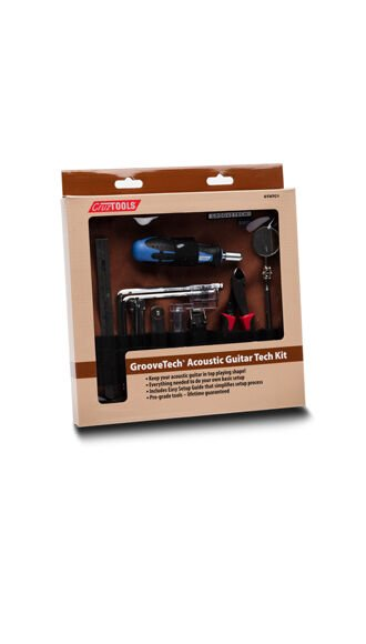 GrooveTech Acoustic Guitar Tech Kit (CruzTools®)
