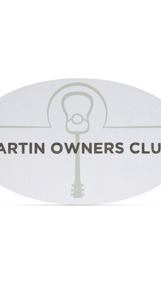Martin Owners Club Magnet