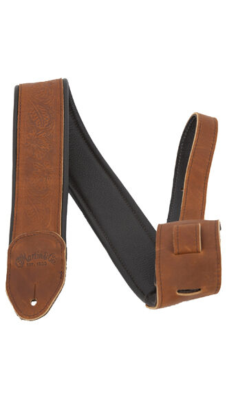 Garment Leather Strap - Brown