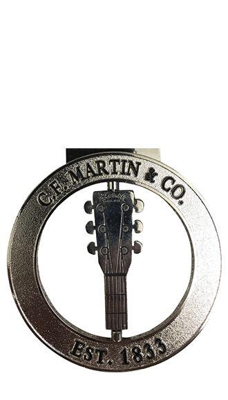Silver C.F. Martin & Co. Ornament