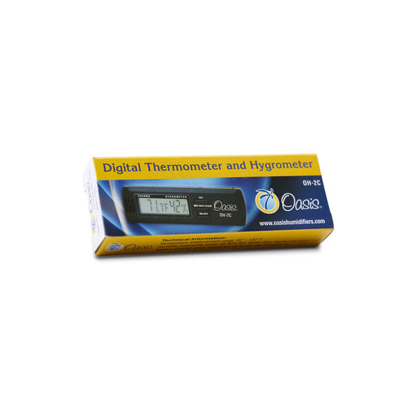 Oasis® Digital Thermometer and Hygrometer image number 1