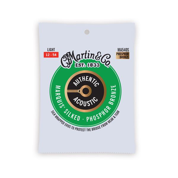Martin Authentic Acoustic Marquis® Silked Guitar Strings image number 0