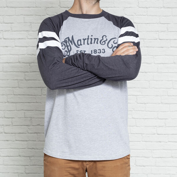 Martin Long Sleeve Jersey Heather/Navy image number 1