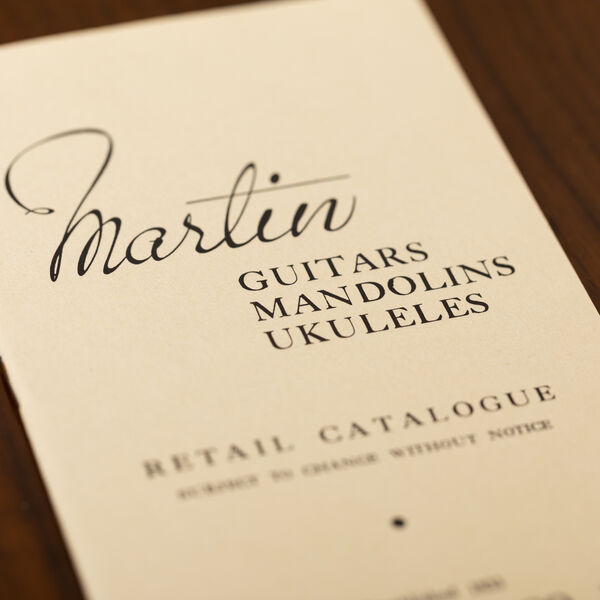 CF Martin 1941 Catalog Reprint image number 1