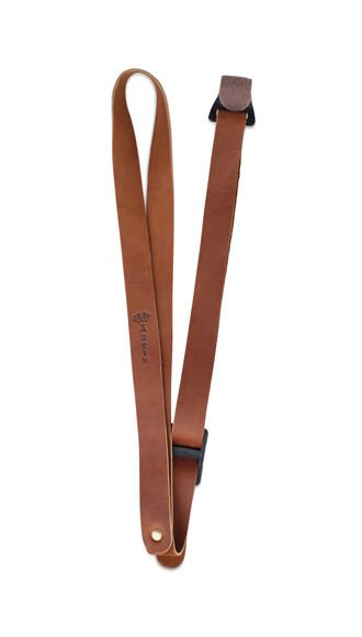 Leather Ukulele Strap (Brown)