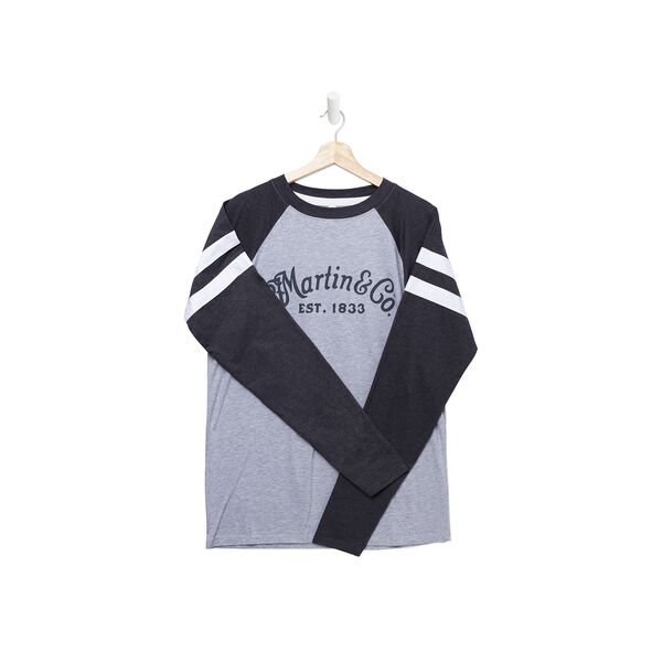 Martin Long Sleeve Jersey Heather/Navy image number 0