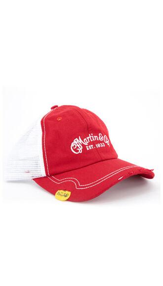 Martin Pick Hat (Red)