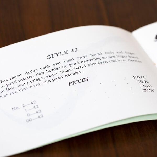 CF Martin 1898 Catalog Reprint image number 2