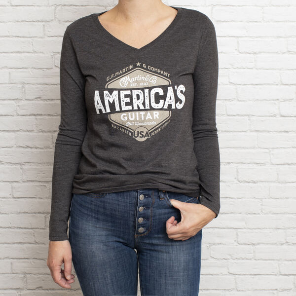New - Martin Women's Long Sleeve Tee image number 1