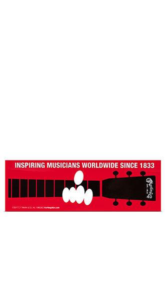 Inspiring Musicians Bumper Sticker
