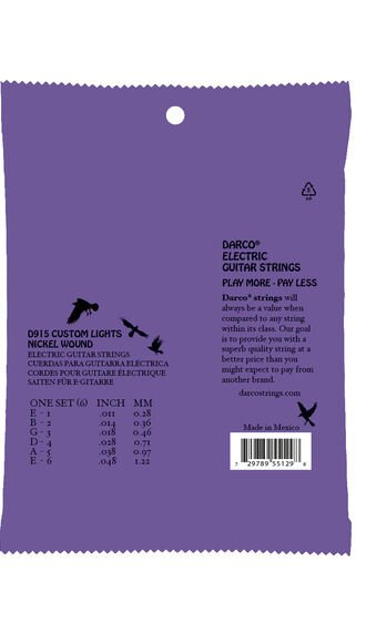 Darco® Electric Guitar Strings