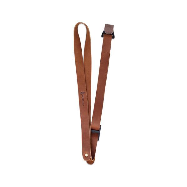 Leather Ukulele Strap (Brown) image number 0